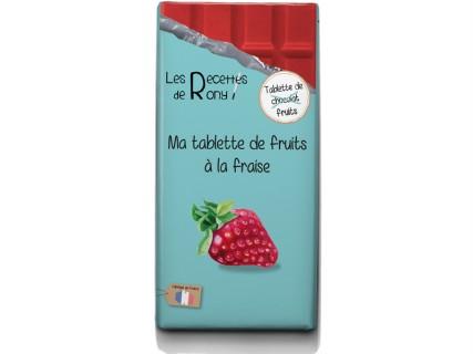 Tablette de fruits - Fraises - 80g