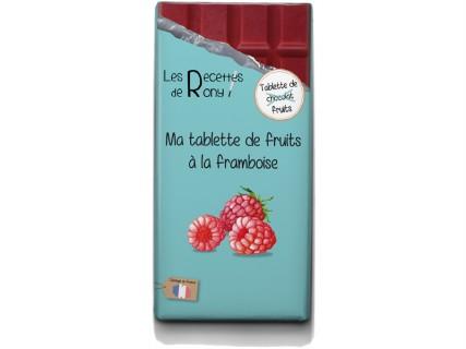 Tablette de fruits - Framboise - 80g