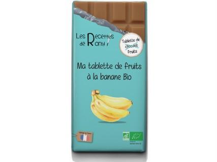 Tablette de fruits - Banane Bio - 80g