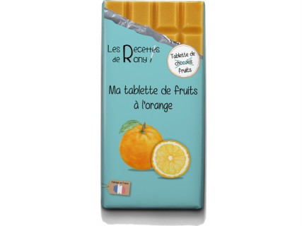 Tablette de fruits - Orange - 80g
