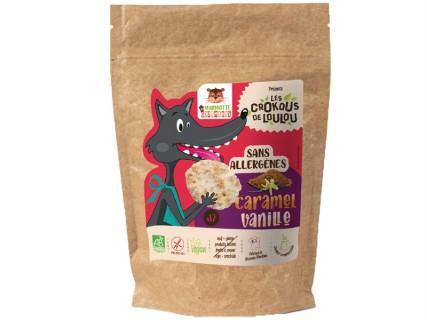 Cookies Crokous - Caramel Vanille - 150g - sans lait, sans gluten, sans œuf, sans fruit à coque