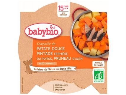 Assiette Patate Douce, Pintade, et Pruneau - 260g