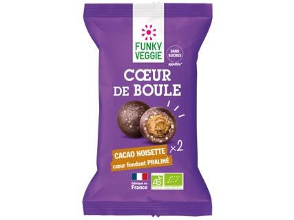Cœur de boule Cacao Noisette Praliné