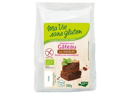 Préparation sans gluten pour Gâteau au chocolat - 300g