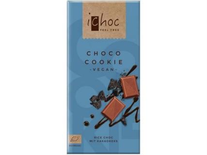 """Tablette de Chocolat """"au lait"""" sans lait, Choco Cookie - 80g"""
