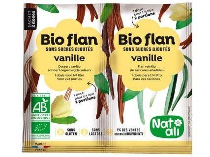 Bioflan Vanille sans sucre ajouté