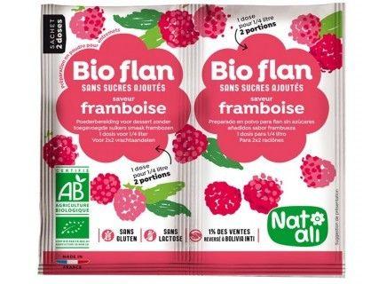 Bioflan framboise sans sucre ajouté