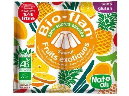 Bioflan Fruits Exotiques sans sucre ajouté