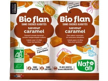 Bioflan Caramel sans sucre ajouté