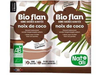 Bioflan Noix de coco sans sucre ajouté