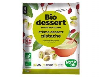 Biodessert Crème pistache