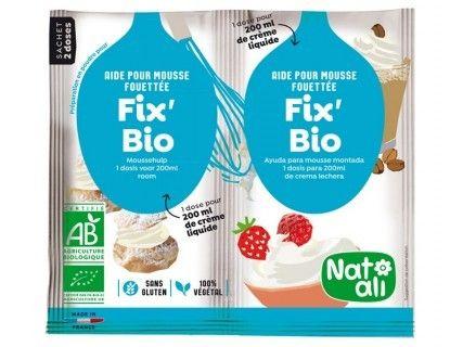 Fix'Bio : aide pour mousse fouettée