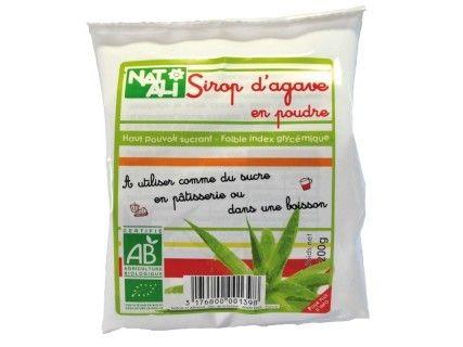 Poudre de sirop d'agave