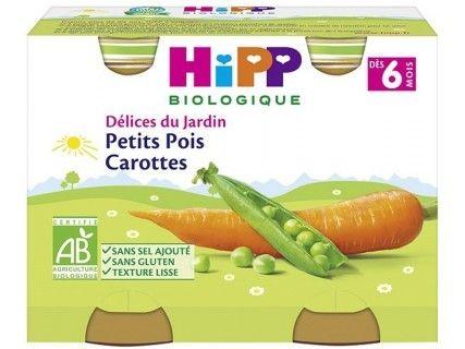 Pots Petits Pois Carottes 2x190g