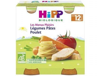 Pots Légumes Pâtes Poulet 2x250g