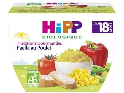 Bol Hipp Paëlla au Poulet - 250g