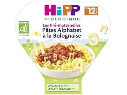 Assiette Pâtes Alphabet à la Bolognaise 230g