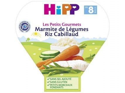 Assiette Marmite de Légumes Riz Cabillaud 200g
