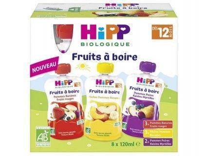 Fruits à boire Multipack 3 variétés  8 x 120 ml