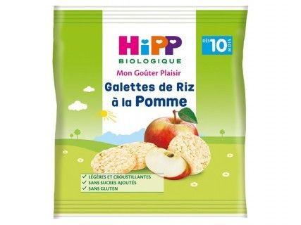 Galettes de Riz à la Pomme - sachet 30 g