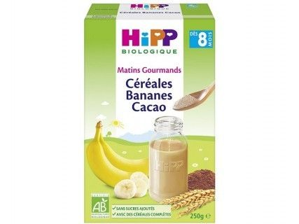 Céréales Bananes Cacao