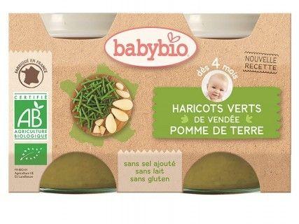 Pots Pomme de terre Haricots verts - 2x130g