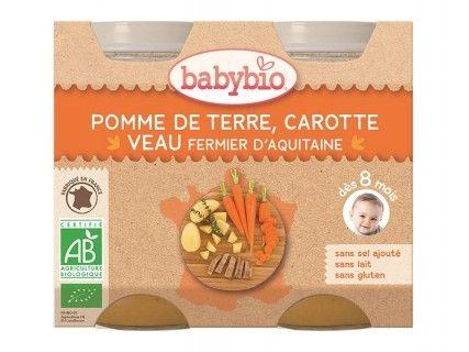 Pots Pomme de terre Carotte Veau - 2x200g