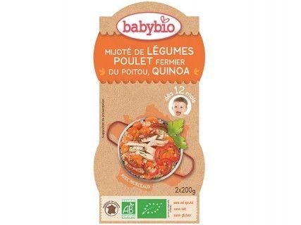 Bols Légumes, Poulet fermier, Quinoa - 2x200g
