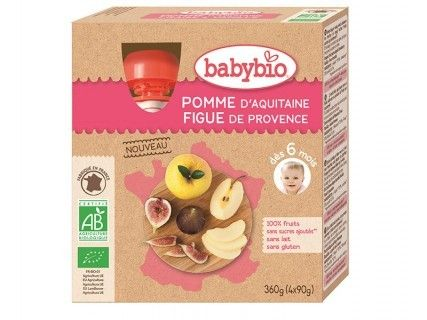Gourdes Pomme Figue de Provence - 4x90g