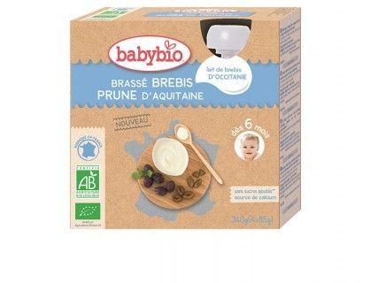 Brassés au Lait de Brebis et Prune d'Aquitaine - 4x85g