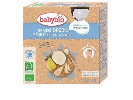 Brassés au Lait de Brebis et Poire de Provence - 4x85g