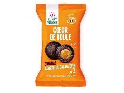 Cœur de boule Brownie Cacahuètes