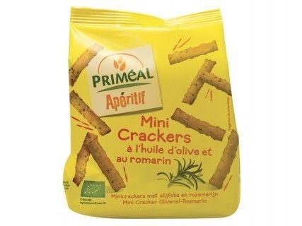 Mini crackers à l'huile d'olive et au romarin