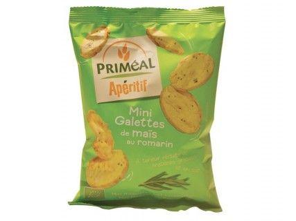 Mini galettes de maïs au romarin