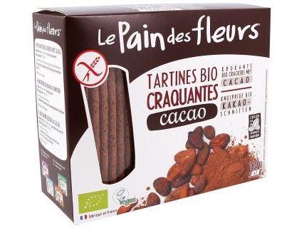 Tartines craquantes Le Pain des Fleurs cacao - 150g