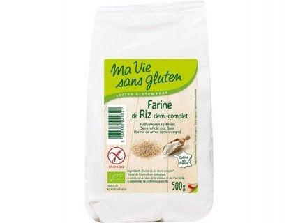Farine de riz demi-complet - 500g