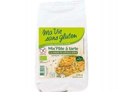 Mix' pâte à tarte à la farine de lentille verte