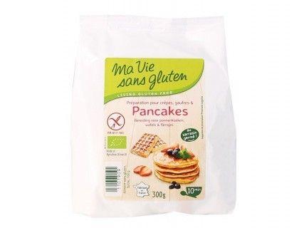 Préparation pour crêpes, gaufres et pancakes - Sans Gluten - 300g