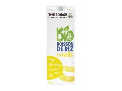 Boisson Riz Vanille 1L