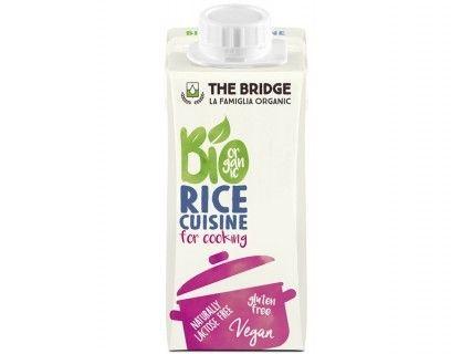 Crème riz cuisine