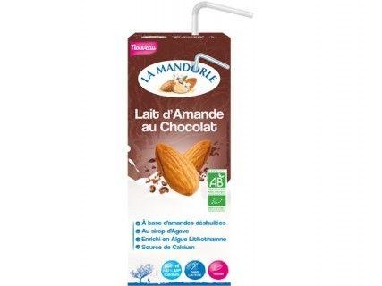 Lait d'Amande au Chocolat «Briquette»