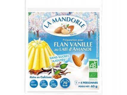 Flan Vanille au lait d'Amande