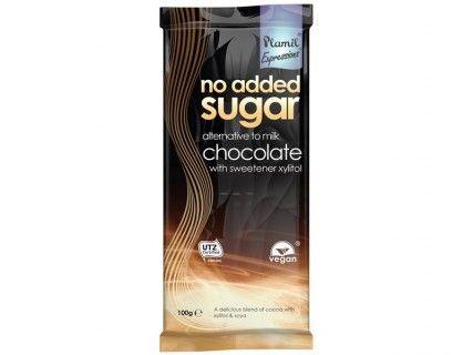 Tablette de Chocolat, sans lait, sans oeuf, sans sucre ajouté