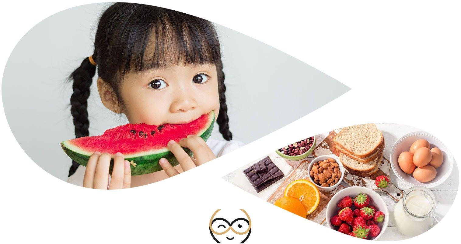comment diagnostiquer allergie alimentaire chez l'endant