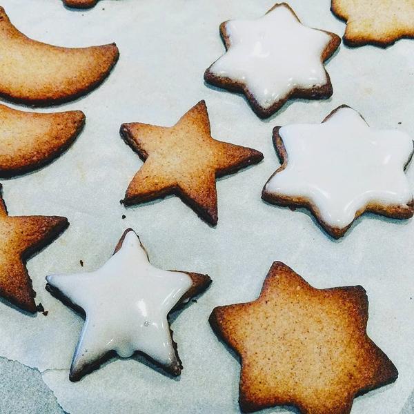 Sablés de Noël aux épices (sans gluten, sans lait)