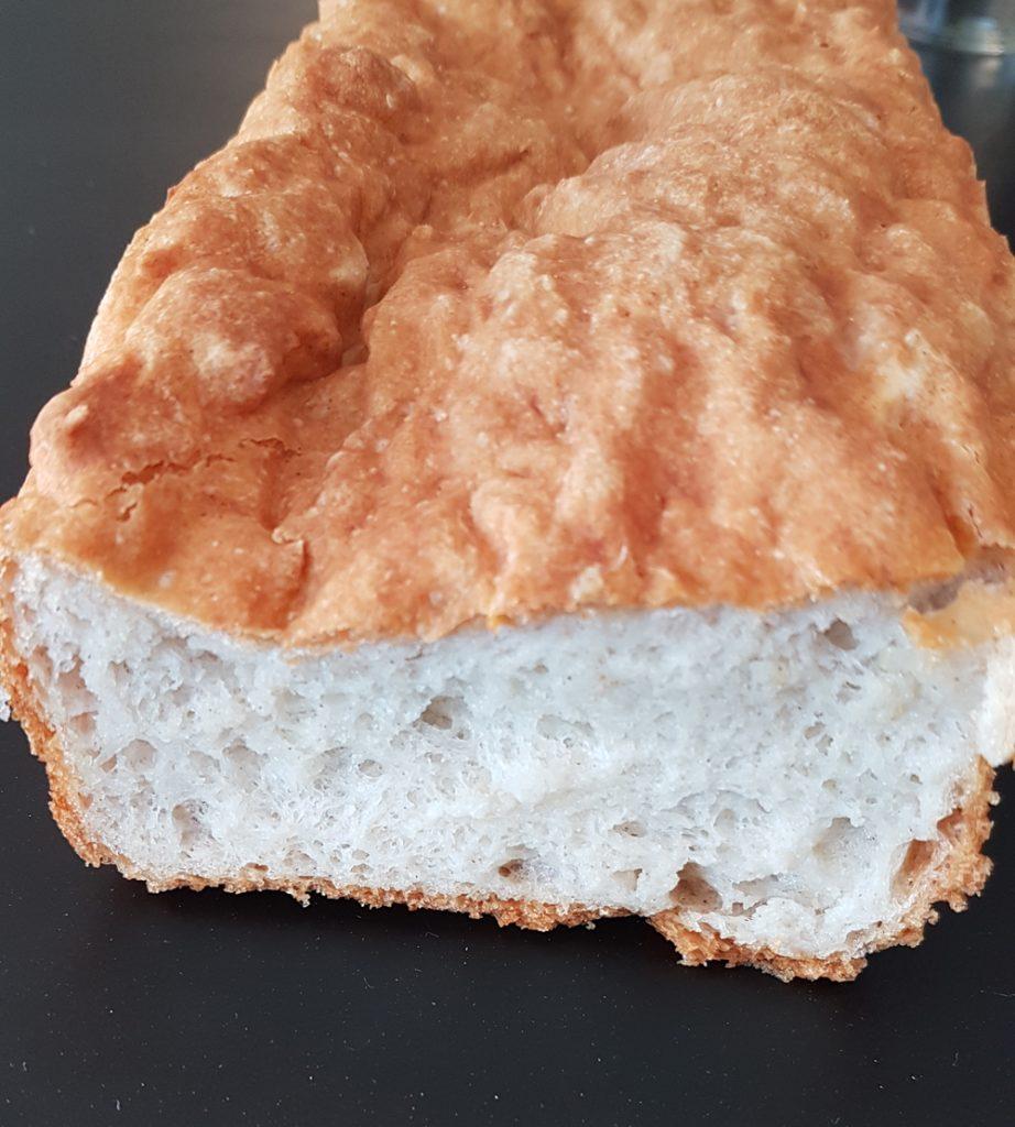 Pain sans gluten, avec le mix pain Celiane